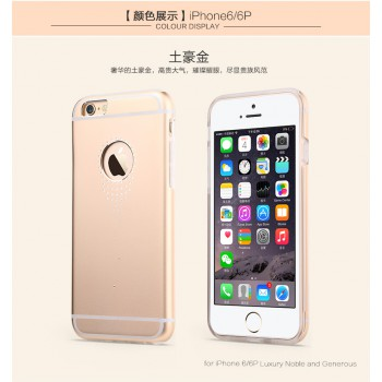 """USAMS® Coque Housse Protection Etui Cover Case Or pour iPhone 6 Plus """"Angel's tear Series"""" NEUF"""