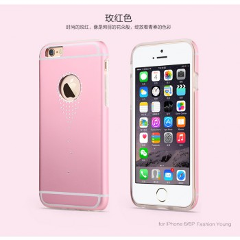 "USAMS® Coque Housse Protection Etui Cover Case Rose pour iPhone 6 Plus ""Angel's tear Series"" NEUF"