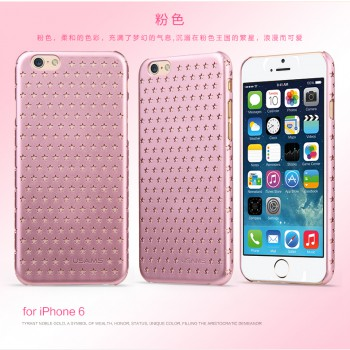 "USAMS® Coque Housse Protection Etui Cover Case Rose pour iPhone 6 Plus ""Twinkle Series"" NEUF"