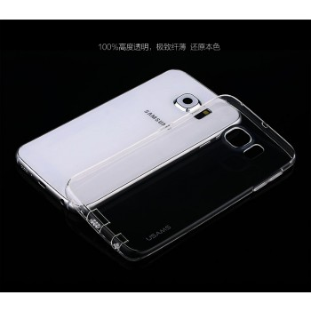 """USAMS® Housse Protection Etui Cover Case Transparent Galaxy S6 Edge """"Primary Series"""" NEUF"""