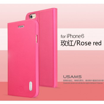 "USAMS® Coque Housse Protection Etui Cover Case Rose pour iPhone 6 ""Geek Series"" NEUF"