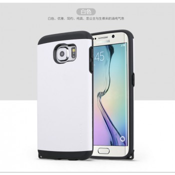"USAMS® Housse Protection Etui Cover Case Blanc Galaxy S6 ""U+ Series"" NEUF"