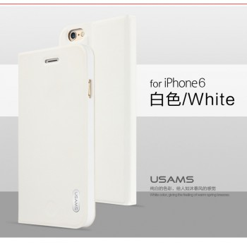 """USAMS® Coque Housse Protection Etui Cover Case Blanc pour iPhone 6 Plus """"Geek Series"""" NEUF"""