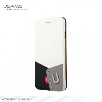 """USAMS® Coque Housse Protection Etui Cover Case Blanc pour iPhone 6 """"IU Series"""" NEUF"""