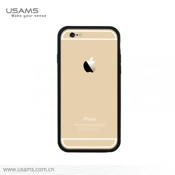 """USAMS® Housse Protection Etui Cover Case Noir iPhone 6 """"Pride Series"""" NEUF"""