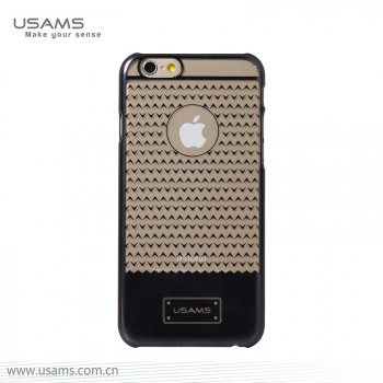"""USAMS® Coque Housse Protection Etui Cover Case Gris pour iPhone 6 Plus """"V-plating Series"""" NEUF"""
