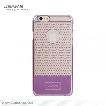 """USAMS® Coque Housse Protection Etui Cover Case Rose pour iPhone 6 Plus """"V-plating Series"""" NEUF"""