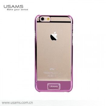 """USAMS® Coque Housse Protection Etui Cover Case Rose pour iPhone 6 Plus """"0-plating Series"""" NEUF"""