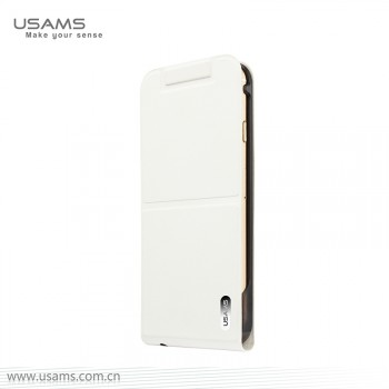 """USAMS® Coque Housse Protection Etui Cover Case Blanc pour iPhone 6 """"Dancing Series"""" NEUF"""
