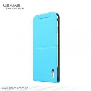 "USAMS® Coque Housse Protection Etui Cover Case Bleu pour iPhone 6 ""Dancing Series"" NEUF"