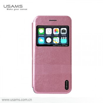 "USAMS® Coque Housse Protection Etui Cover Case Rose Haut de gamme pour iPhone 6 ""Lange Series"" NEUF"