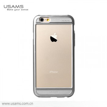 """USAMS® Coque Housse Protection Etui Cover Case Gris pour iPhone 6 """"Bescon Series"""" NEUF"""