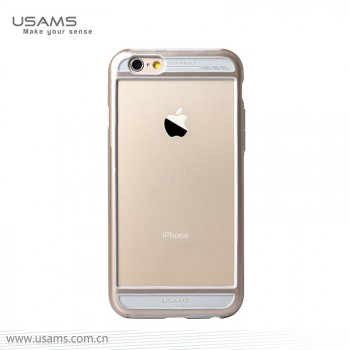 "USAMS® Coque Housse Protection Etui Cover Case Or pour iPhone 6 ""Bescon Series"" NEUF"