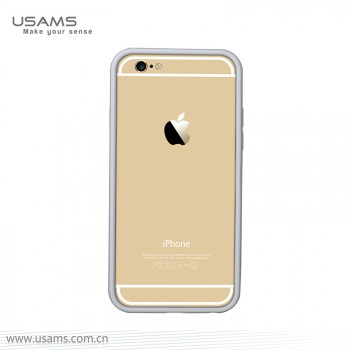 """USAMS® Housse Protection Etui Cover Case Argent iPhone 6 """"Pride Series"""" NEUF"""
