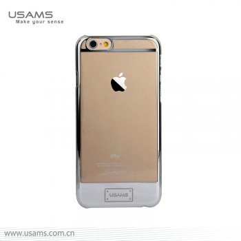 """USAMS® Coque Housse Protection Etui Cover Case Argent pour iPhone 6 """"0-plating Series"""" NEUF"""