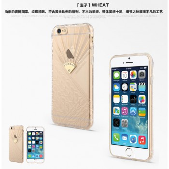 """USAMS® Coque Housse Protection Etui Cover Case Transparent pour iPhone 6 """"Fancy Series"""" NEUF"""