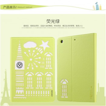 "USAMS® Coque Housse Protection Etui Cover Case Vert pour iPad Air 2 ""Tower Series"" NEUF"
