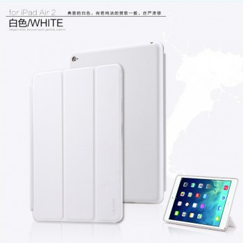 "USAMS® Coque Housse Protection Etui Cover Case Blanc pour iPad Air 2 ""Swing Series"" NEUF"