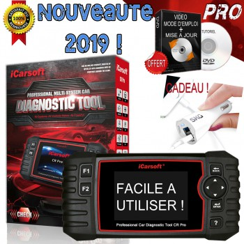 ICARSOFT CR PRO diagnostic auto multimarque et multilangue