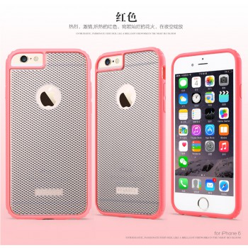 "USAMS® Coque Housse Protection Etui Cover Case Rose pour iPhone 6 ""Vogue Series"" NEUF"