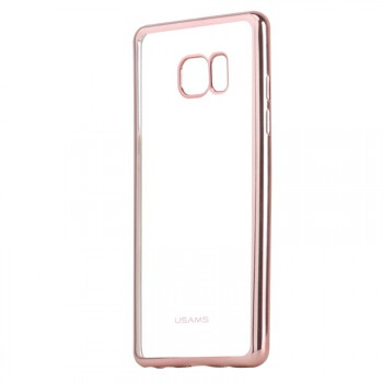 """USAMS® Coque Housse Protection Etui Cover Case Or rose Haut de gamme pour Galaxy Note 7 """"Kim Series"""" NEUF"""