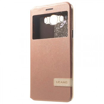 """USAMS® Coque Housse Protection Etui Cover Case Or rose Haut de gamme pour Galaxy J7 """"Muge Series"""" NEUF"""