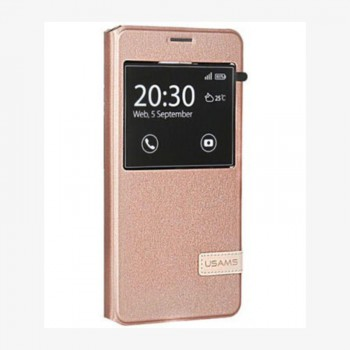 """USAMS® Coque Housse Protection Etui Cover Case Or rose Haut de gamme pour Galaxy O7 """"Muge Series"""" NEUF"""