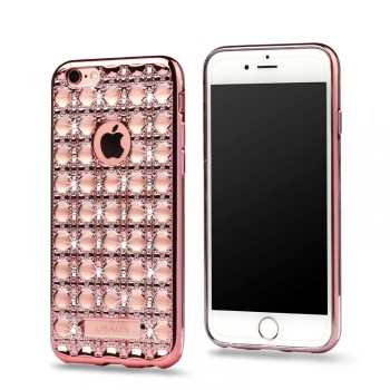 """USAMS® Coque Housse Protection Etui Cover Case Or rose Haut de gamme pour iPhone 6S """"Ross Series"""" NEUF"""