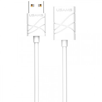 "USAMS® Cable d'Extension USB 2.0 Universel Blanc Haut de gamme ""U-Gee Series"" NEUF"