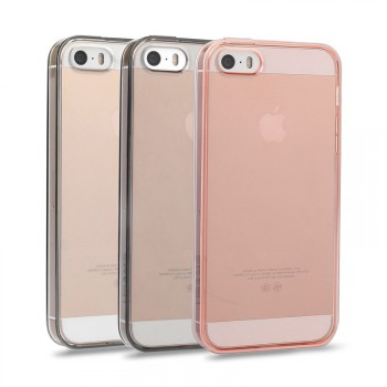 """USAMS® Coque Housse Protection Etui Cover Case Rose transparent pour iPhone SE """"X-Match Series"""" NEUF"""