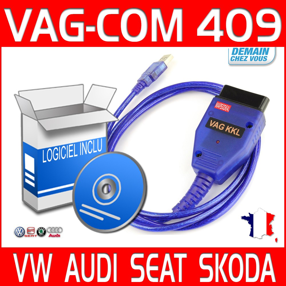 vagcom obd odb2 obd2 kkl usb 409 1 dvd logiciel vag com scan diag. Black Bedroom Furniture Sets. Home Design Ideas